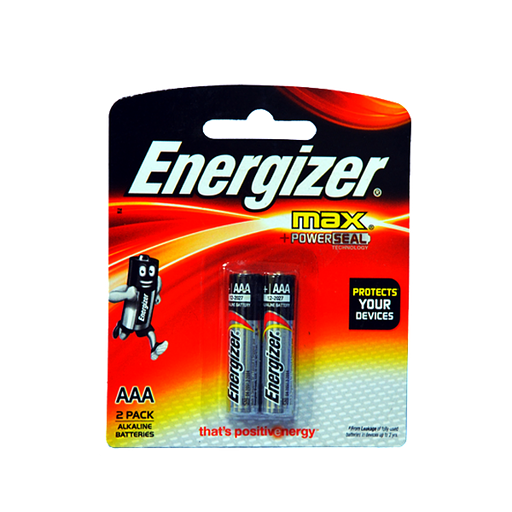 Energizer Max Aaa E92bp2-Master Square