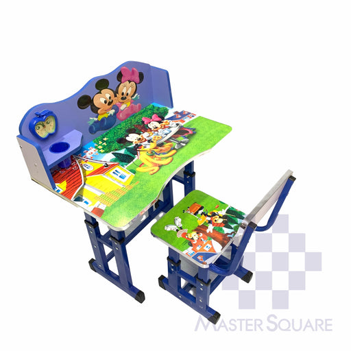 Kids Desk And Chair Set 27 X 18 In Mickey And Minnie-Master Square