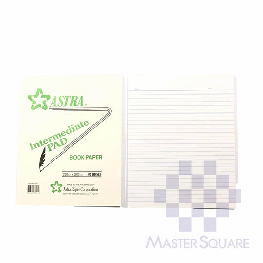Astra Intermediate Pad 80lvs 200 X 250 Mm-Master Square