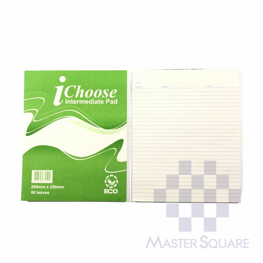 Ichoose Intermediate Pad 80lvs 200 X 250 Mm-Master Square
