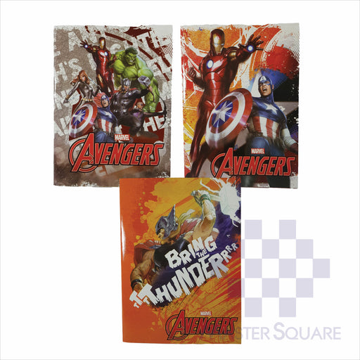 Notebook Composition 80lvs Avengers Design Set 1 Pack Of 3-Master Square