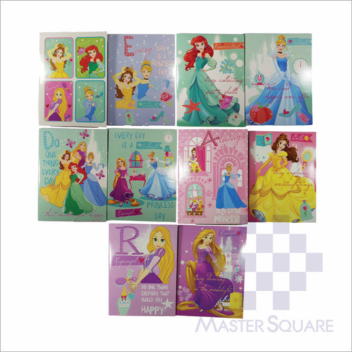 Notebook Composition 80lvs Princess Dreams Design Pack Of 10-Master Square