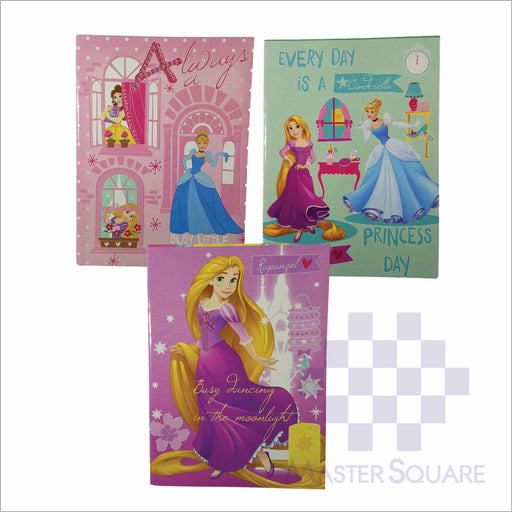 Notebook Composition 80lvs Princess Dreams Design Set 2 Pack Of 3-Master Square