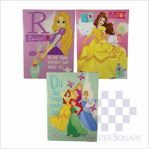 Notebook Composition 80lvs Princess Dreams Design Set 3 Pack Of 3-Master Square