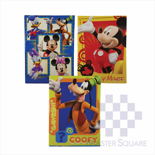 Notebook Composition 80lvs Mickey Mouse Design Set 2 Pack Of 3-Master Square