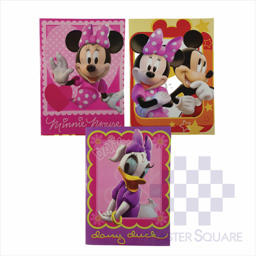 Notebook Composition 80lvs Mickey Mouse Design Set 3 Pack Of 3-Master Square