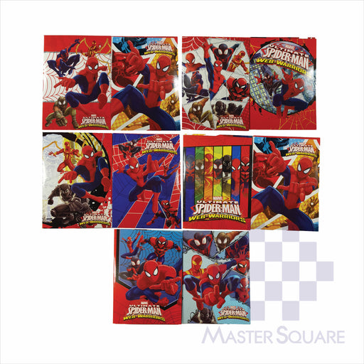 Notebook Composition 80lvs Spiderman Design Pack Of 10-Master Square