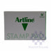 Artline Stamp Pad #00 40x63mm Green-Master Square