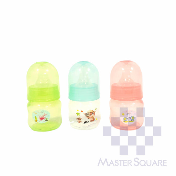 Kabu Feeding Bottle 2 Oz Set Of 3-Master Square
