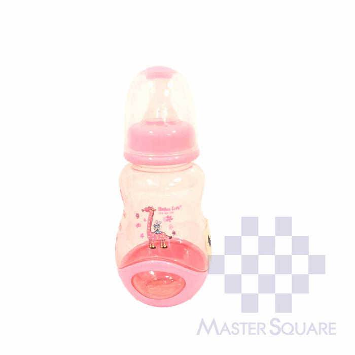 Babeslife Feeding Bottle 5 Oz Pink-Master Square