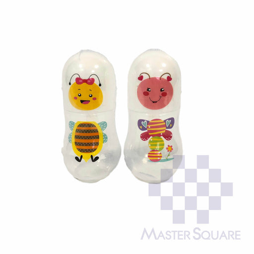 Boo2 Feeding Bottle 5 Oz Set Of 2 Bee And Butterfly-Master Square