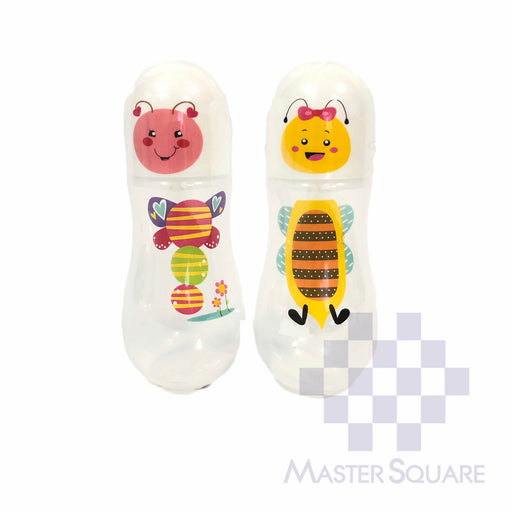 Boo2 Feeding Bottle 9 Oz Set Of 2 Bee And Butterfly-Master Square
