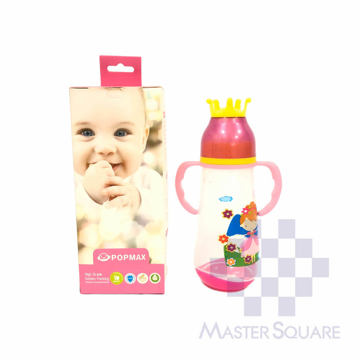 Popmax Feeding Bottle 420ml Pink-Master Square