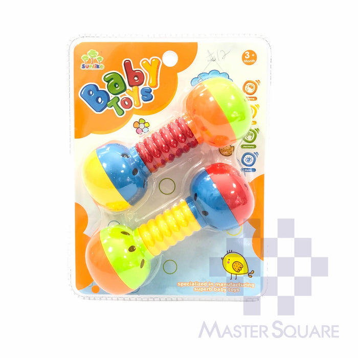 Sunlike Baby Toys Rattle Dumbell-Master Square
