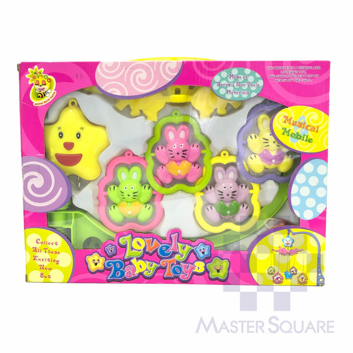 Lovely Baby Toy Musical Mobile-Master Square