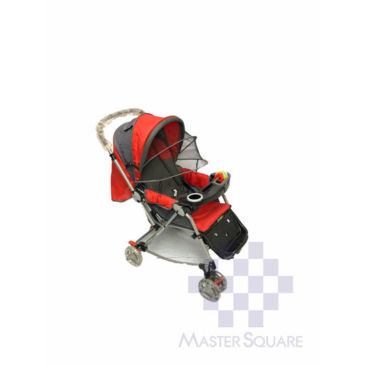 Baby Stroller 036cr Red With Tray-Master Square