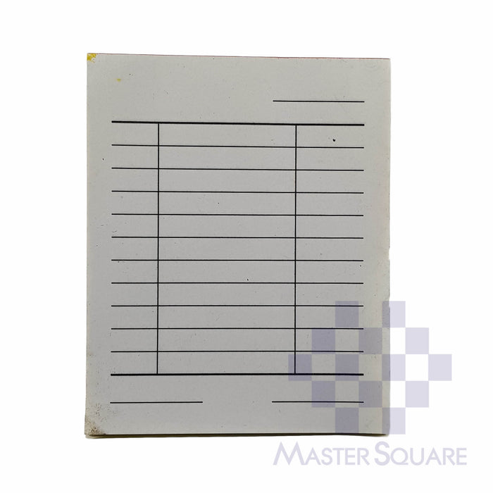 Blank Form Mini Duplicate Approx. 84x104mm-Master Square