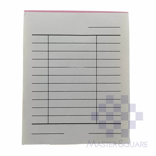 Blank Form Mini Triplicate Approx. 84x104mm-Master Square