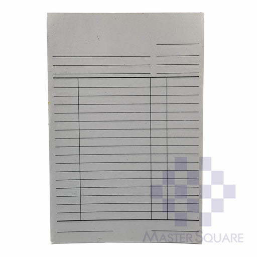 Blank Form Duplicate Approx. 102x153mm-Master Square