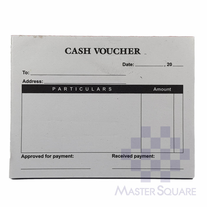 Cash Voucher Approx. 135x105mm-Master Square