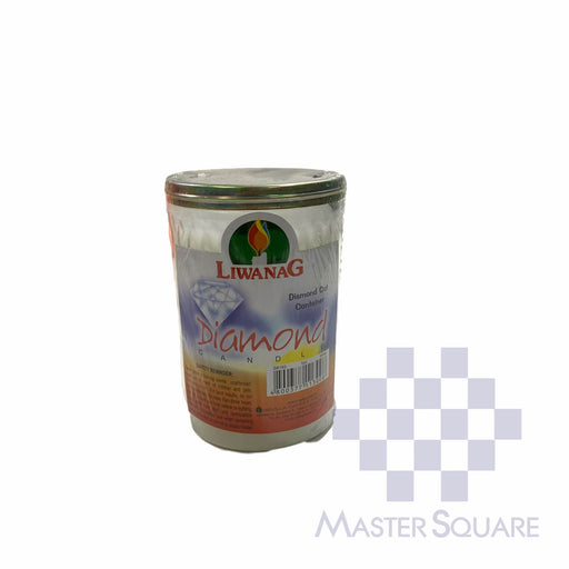 Diamond Candle No. 193 With Diamond Cut Container Approx. 6.3 X 10.50 Cm-Master Square