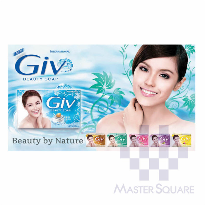 Giv Soap Green 80g-Master Square