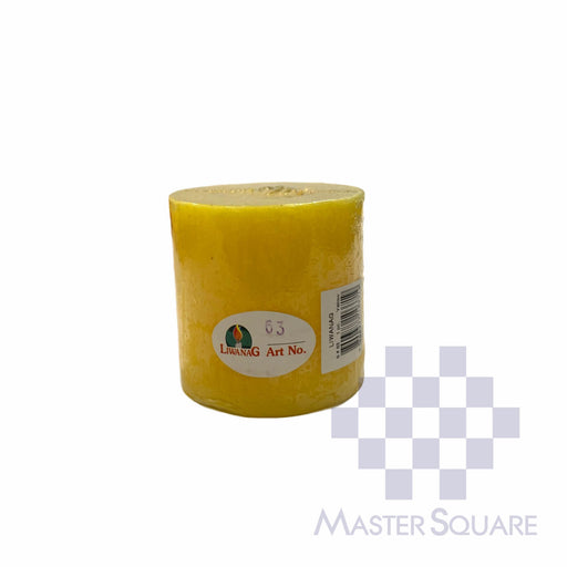 Standard Candle No.63 Approx. 7.4 X 7.50 Cm-Master Square