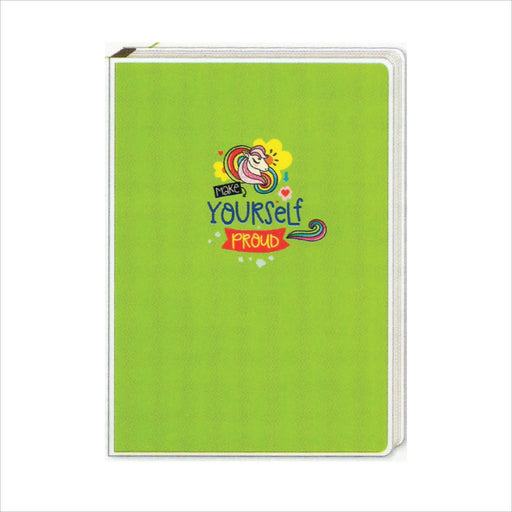 Spring Leaf Clip Binder Notebook 9 Division 5 X 7 In 16 Lvs / Pin Binder 60gsm Sunshine Design 1-Master Square