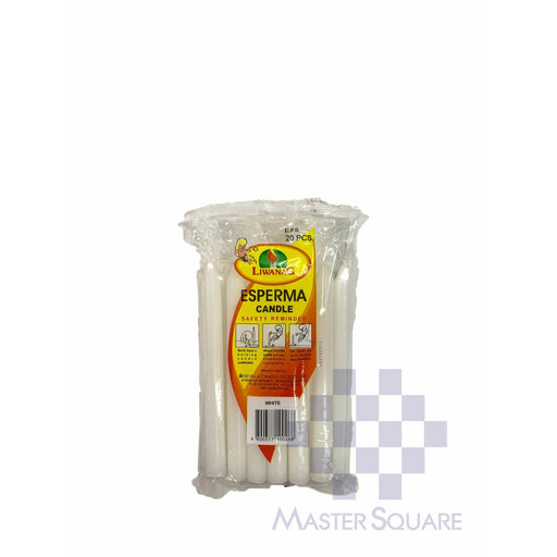 Esperma No.5 Pack Of 20 Approx. 1.30 X 14.50 Cm White-Master Square