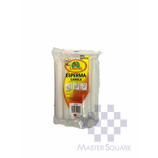 Esperma No.3 Pack Of 20 Approx. 1.10 X 13.50 Cm White-Master Square