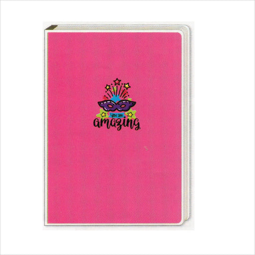 Spring Leaf Clip Binder Notebook 9 Division 5 X 7 In 16 Lvs / Pin Binder 60gsm Sunshine Design 3-Master Square