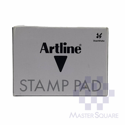 Artline Stamp Pad #00 40x63mm Black-Master Square
