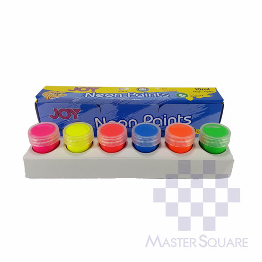 Joy Neon Paints 6 Colors X 10ml-Master Square