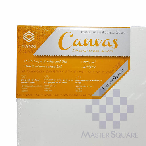 Conda Canvas With Frame 14 X 18 In-Master Square