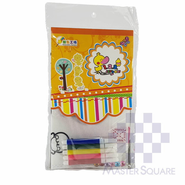 Diy Graffiti Bag Color And Decorate Your Bag With Gem Stickers Chick-Master Square