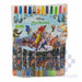 Rolling Crayons 12 Color Long 1012u Approx 17.5cm Zootopia-Master Square