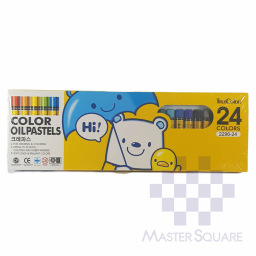 True Color Oil Pastel 24 Colors 2296-24-Master Square