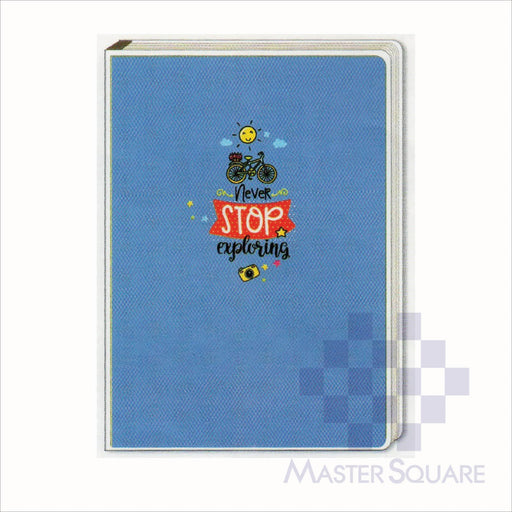 Spring Leaf Clip Binder Notebook 9 Division 6 X 8.5 In 16 Lvs / Pin Binder 60gsm Sunshine Design 8-Master Square