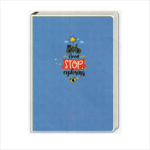 Spring Leaf Clip Binder Notebook 9 Division 5 X 7 In 16 Lvs / Pin Binder 60gsm Sunshine Design 8-Master Square