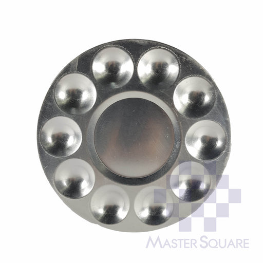 Mixing Plate Aluminum 10 Grooves-Master Square
