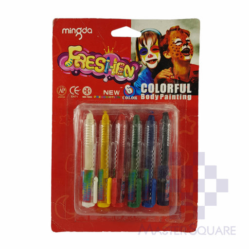 Freshen Colorful Body Painting 6 Colors Md-301a-Master Square