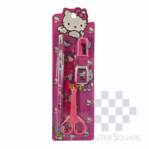 Pencil Set 5 In 1 Hello Kitty-Master Square