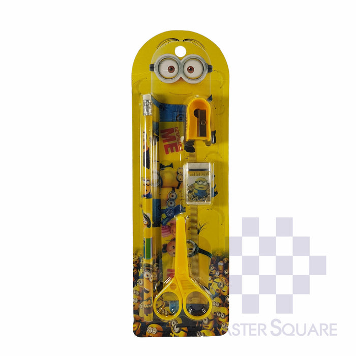 Pencil Set 5 In 1 Minion-Master Square