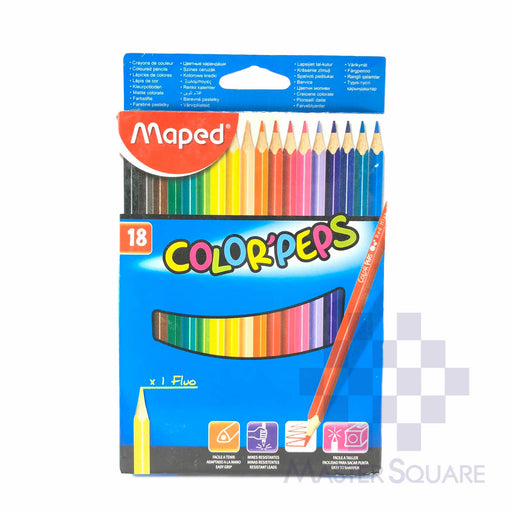 Maped Color' Peps 18 Colors-Master Square