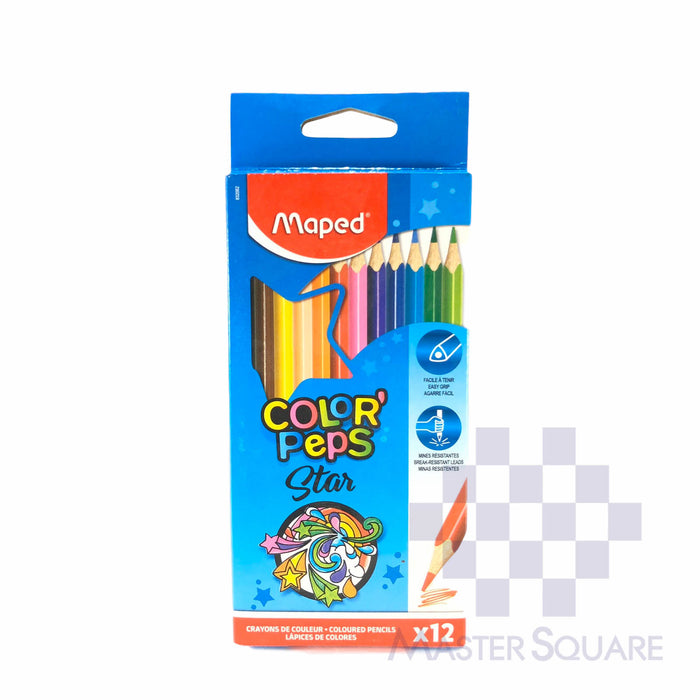 Maped Color' Peps 12 Colors-Master Square