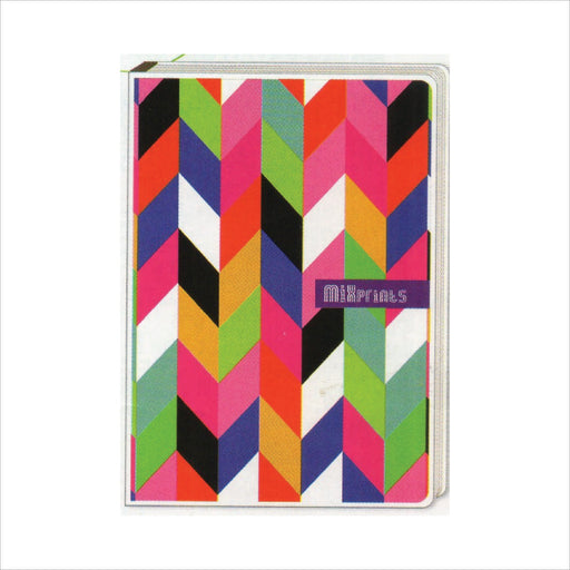 Spring Leaf Clip Binder Notebook 9 Division 5 X 7 In 16 Lvs / Pin Binder 60gsm Mixprints Design 1-Master Square