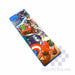 "Pencil Case Plastic Avengers Double Sided Magnet With Sharpener Qy18 Approx. 9""X3""X1""-Master Square"