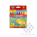 Colleen Super Jumbo Crayons 8 Colors-Master Square