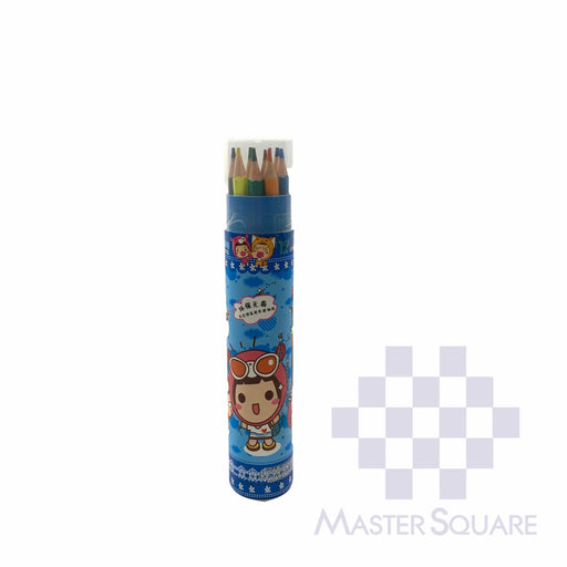 Puppyred Color Pencil Tube 12 Colors-Master Square