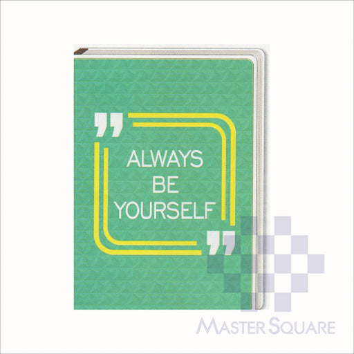 Spring Leaf Clip Binder Notebook 9 Division 5 X 7 In 16 Lvs / Pin Binder 60gsm Handbook Design 6-Master Square